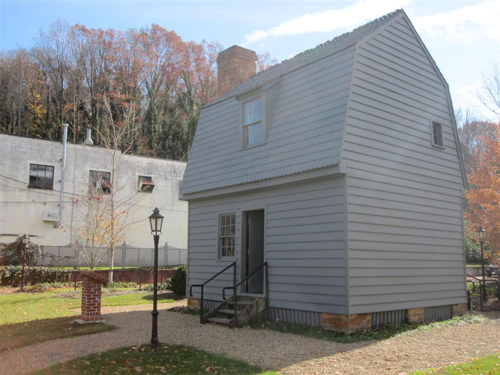 Andrew Johnson replica birthplace - Greenville, Tennessee
