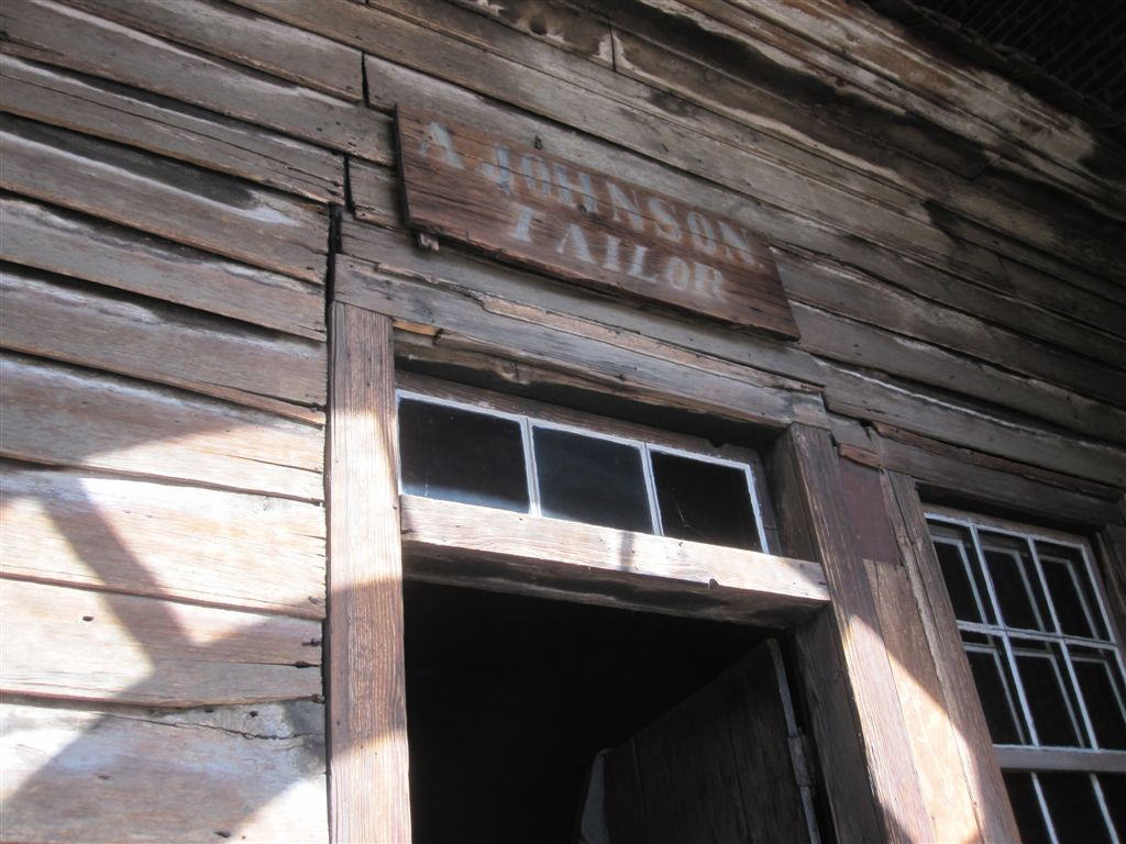 Andrew Johnson tailor shop in Tennessee