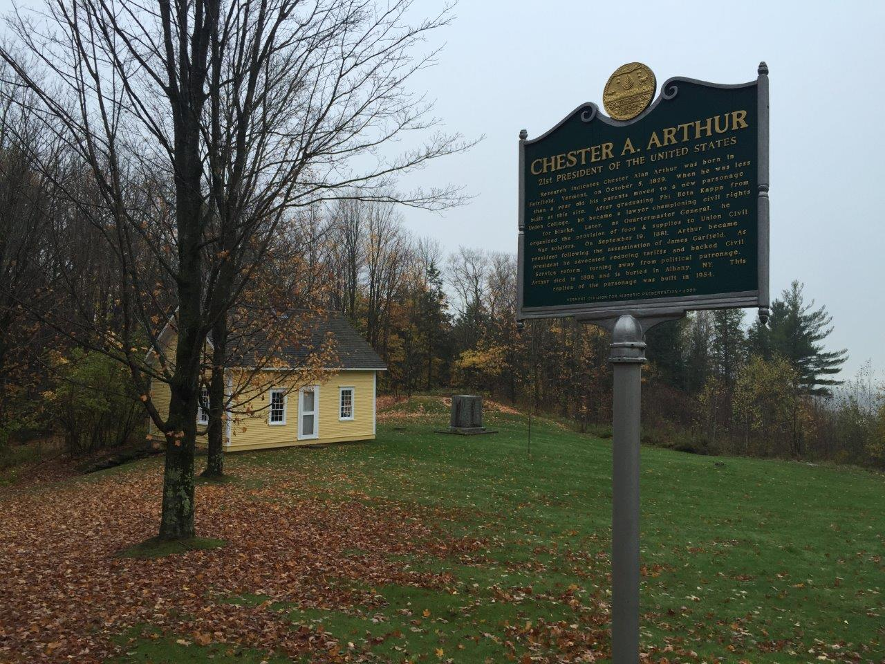 photo of Chester Arthur's home