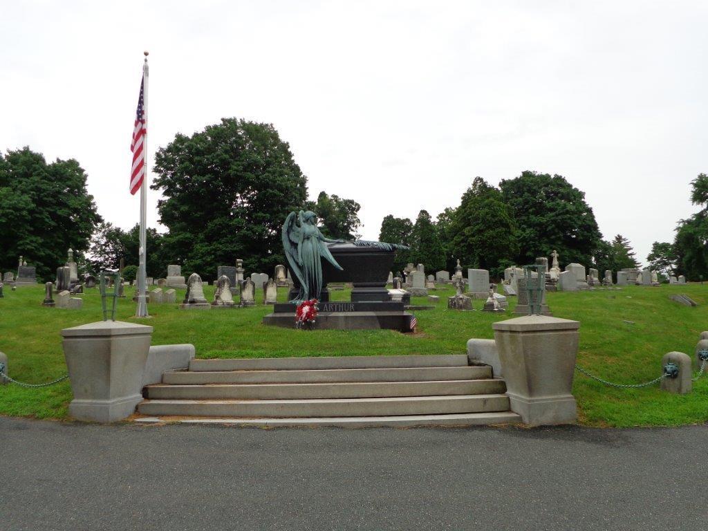 Chester Arthur gravesite