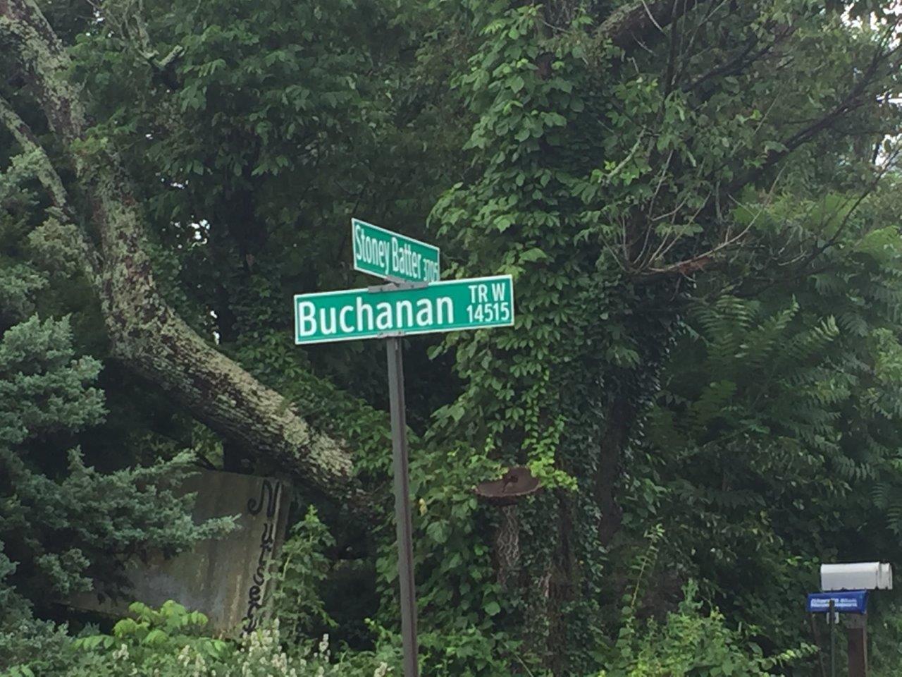 buchanan trail and stoney batter road