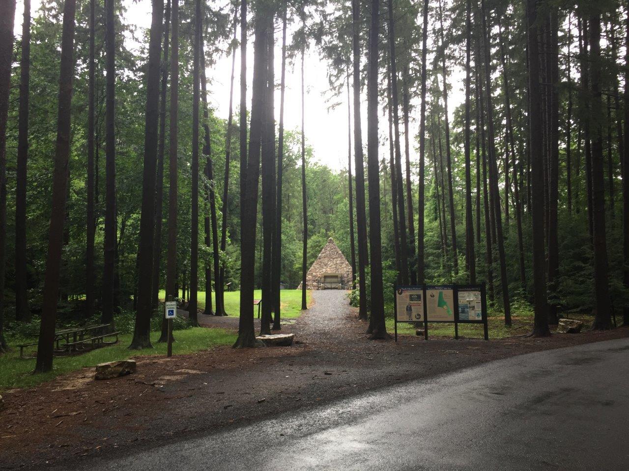 photo of James Buchanan's birthplace historic site