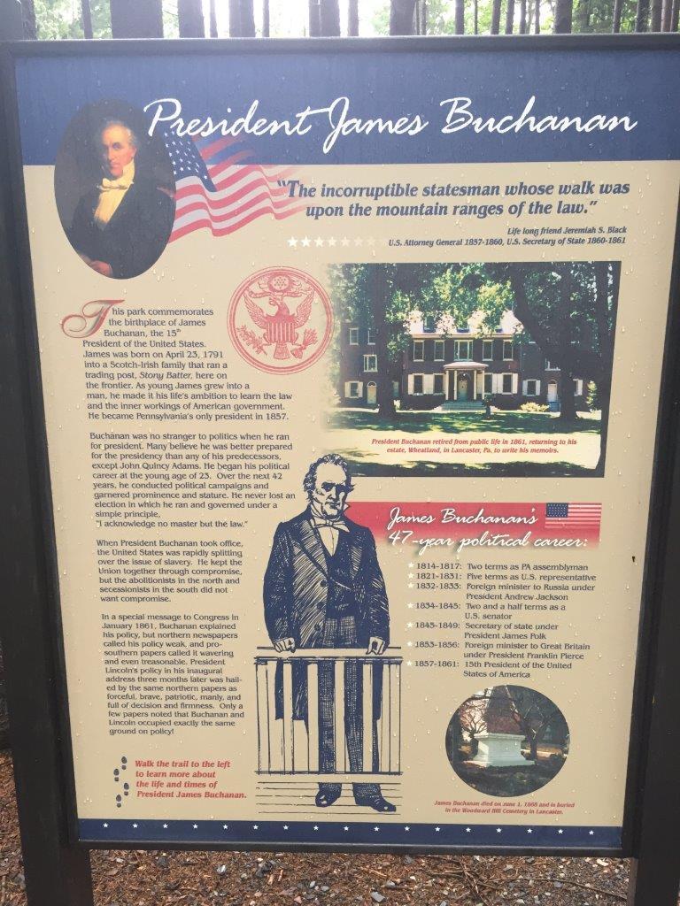 photo of James Buchanan's birthplace