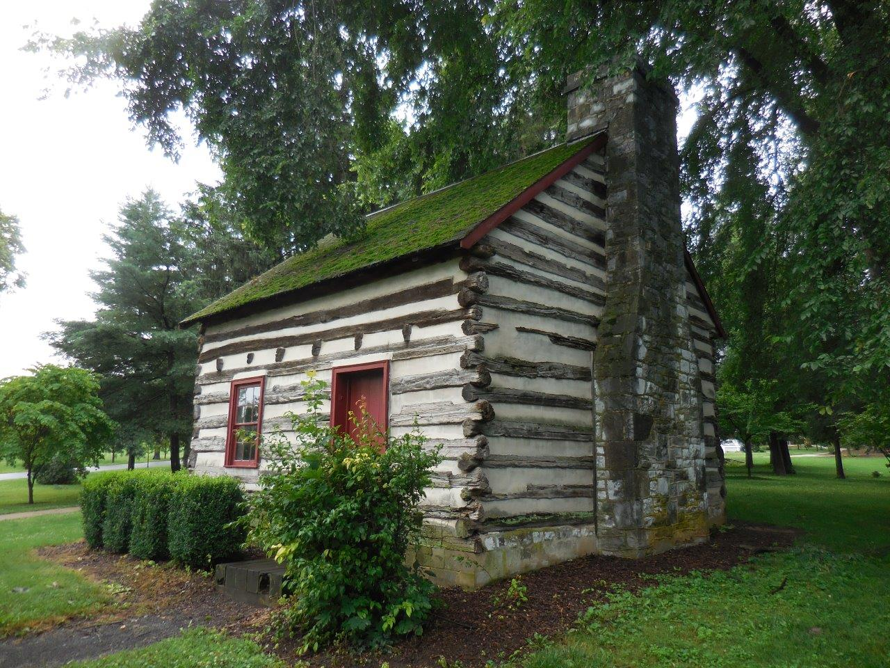 James Buchanan birthplace cabin in Mercersburg, Pennsylvania