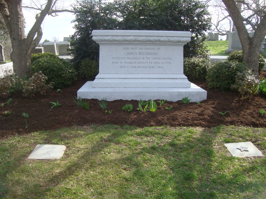 James Buchanan gravesite