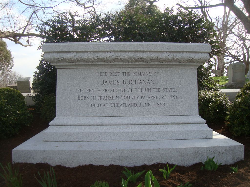 James Buchanan grave