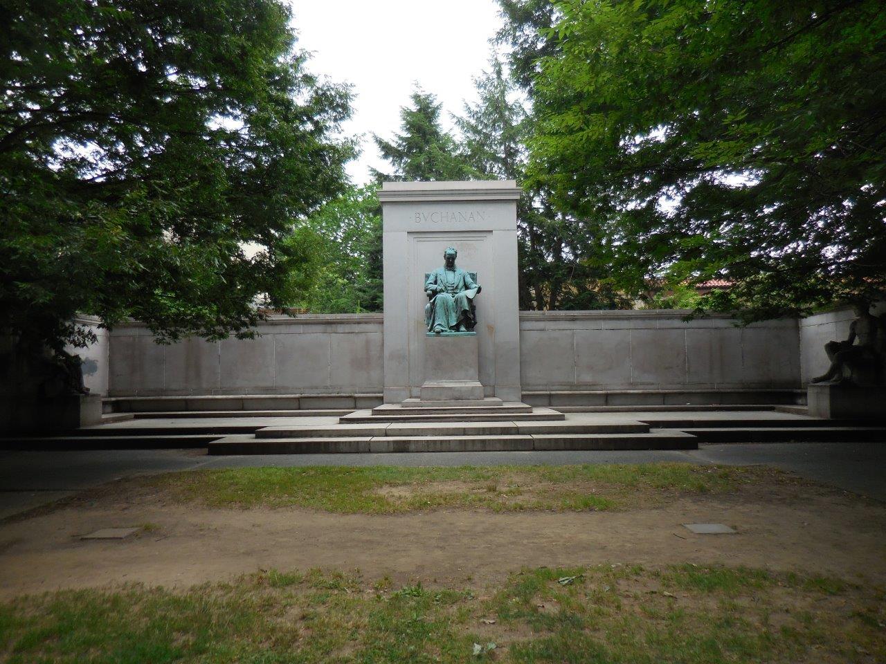 James Buchanan statue in Washington, D.C.
