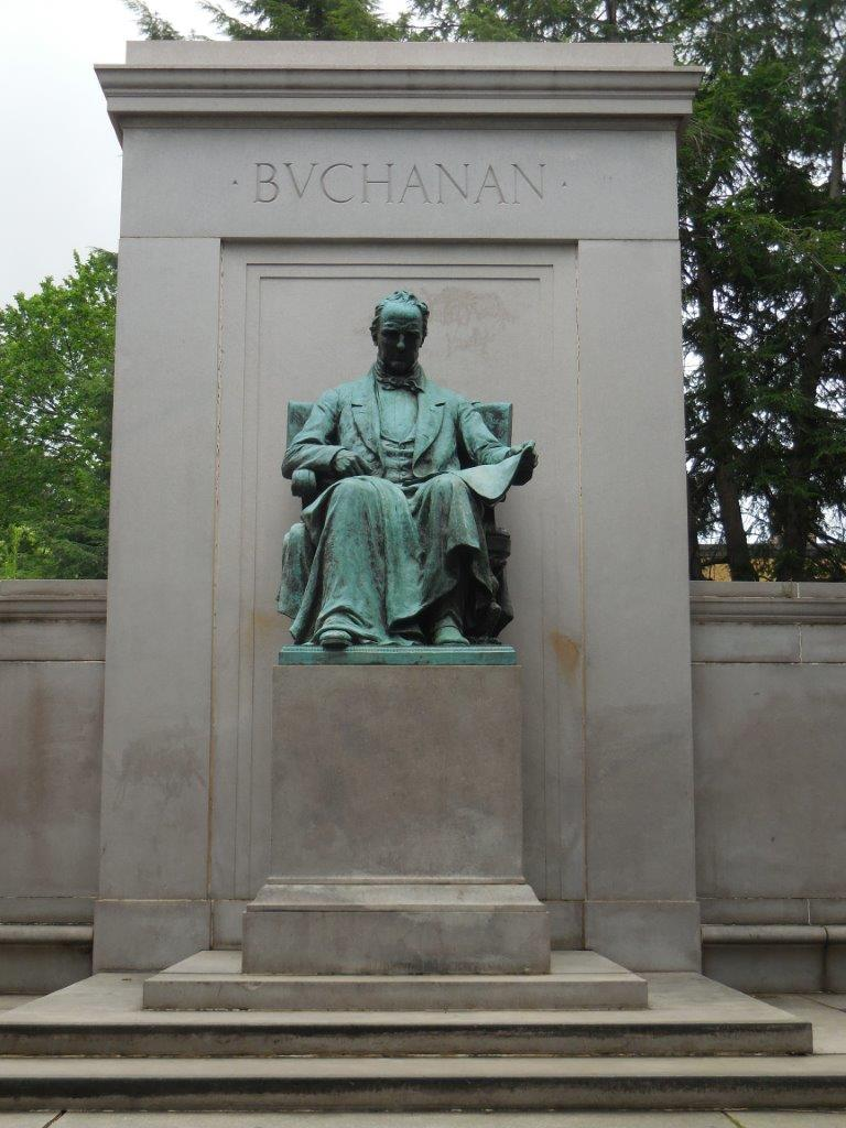 James Buchanan memorial in Washington, D.C.