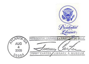 Carter Library Stamp