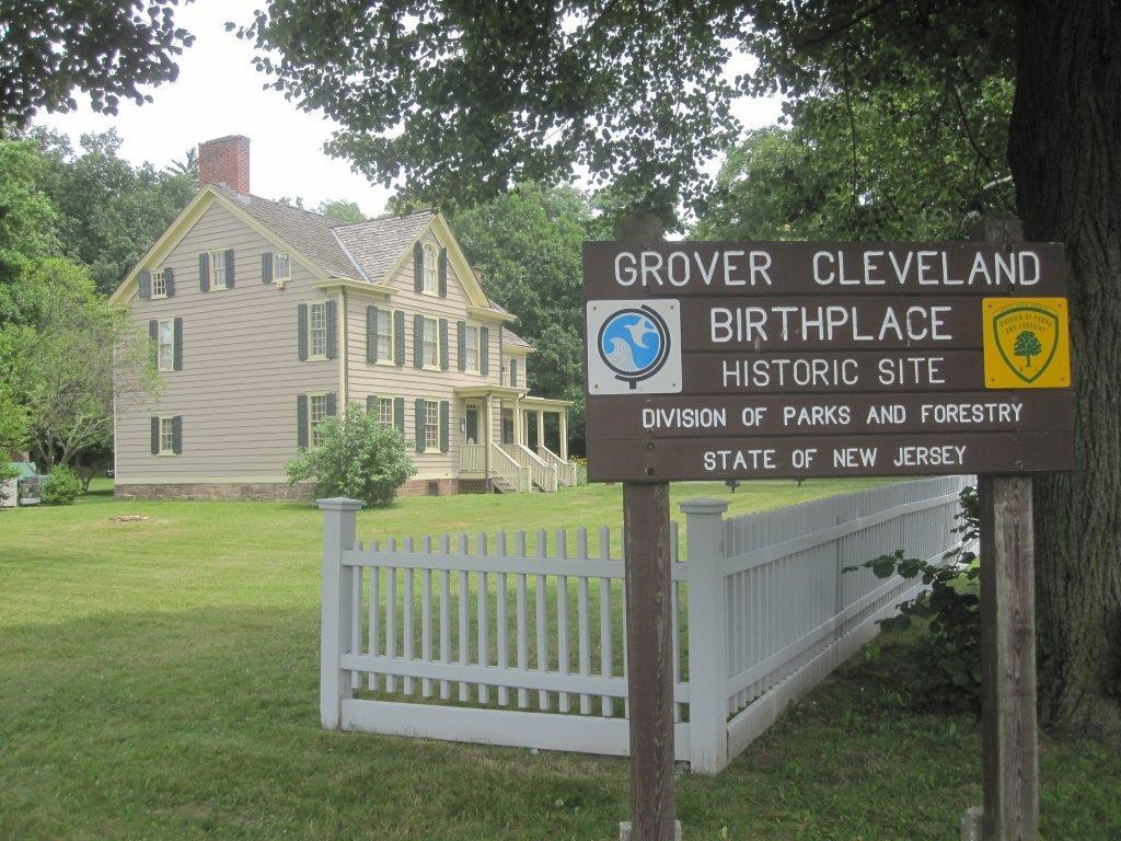 photo of Grover Cleveland's birthplace