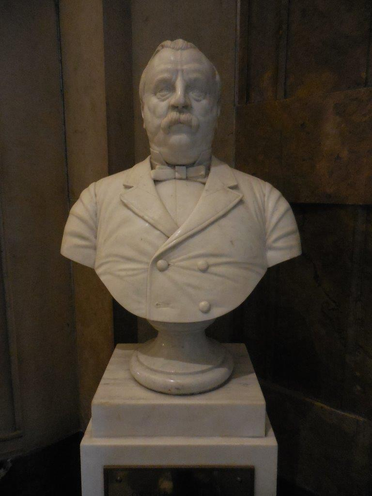 Grover Cleveland bust