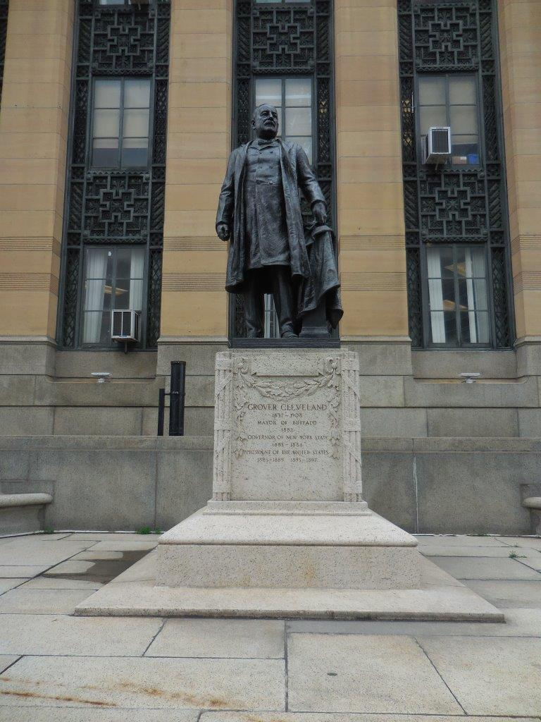 Grover Cleveland statue