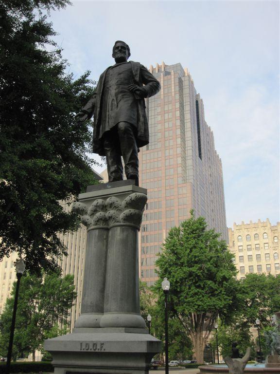 Schuyler Colfax statue