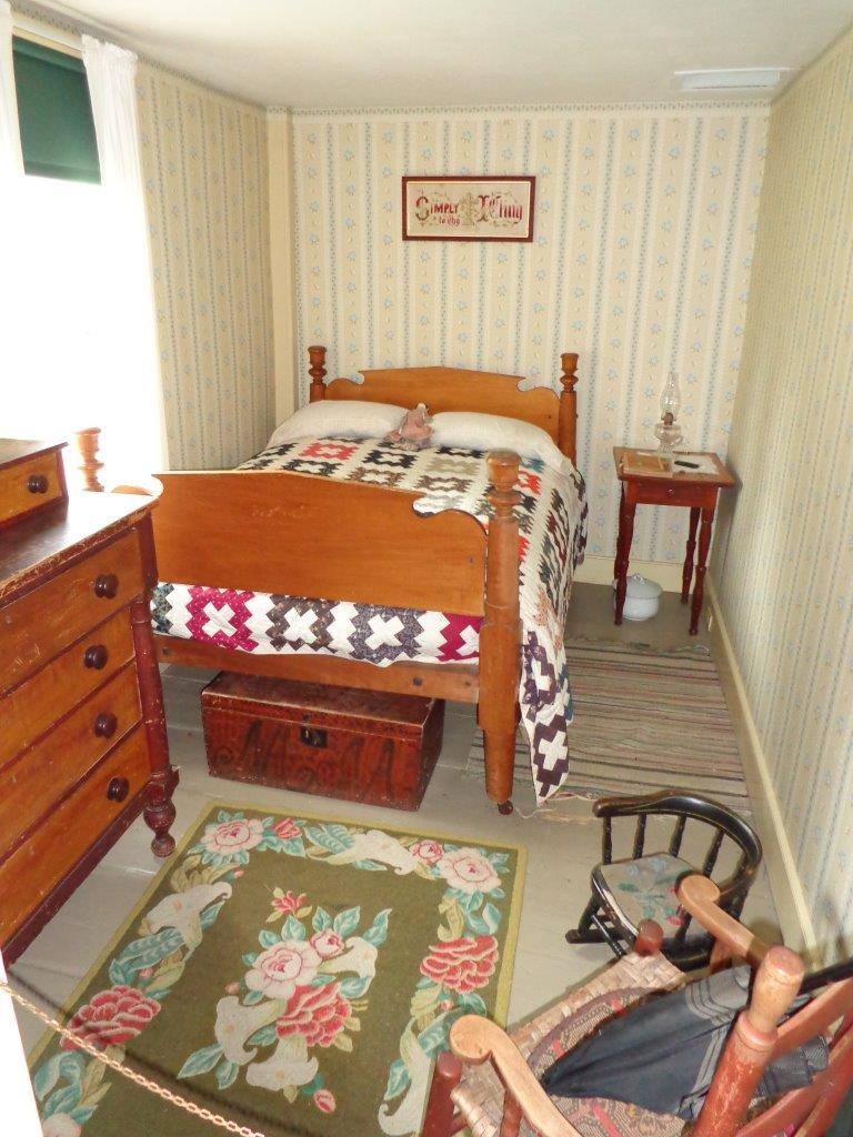 room in which Calvin Coolidge was born