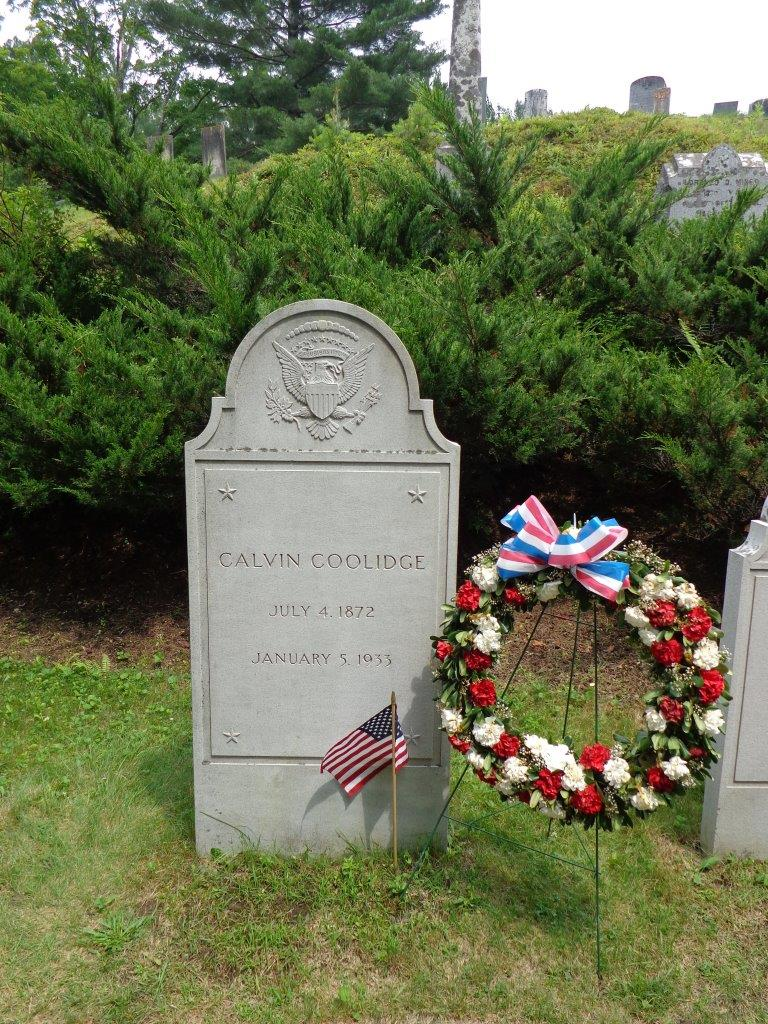 Calvin Coolidge gravesite