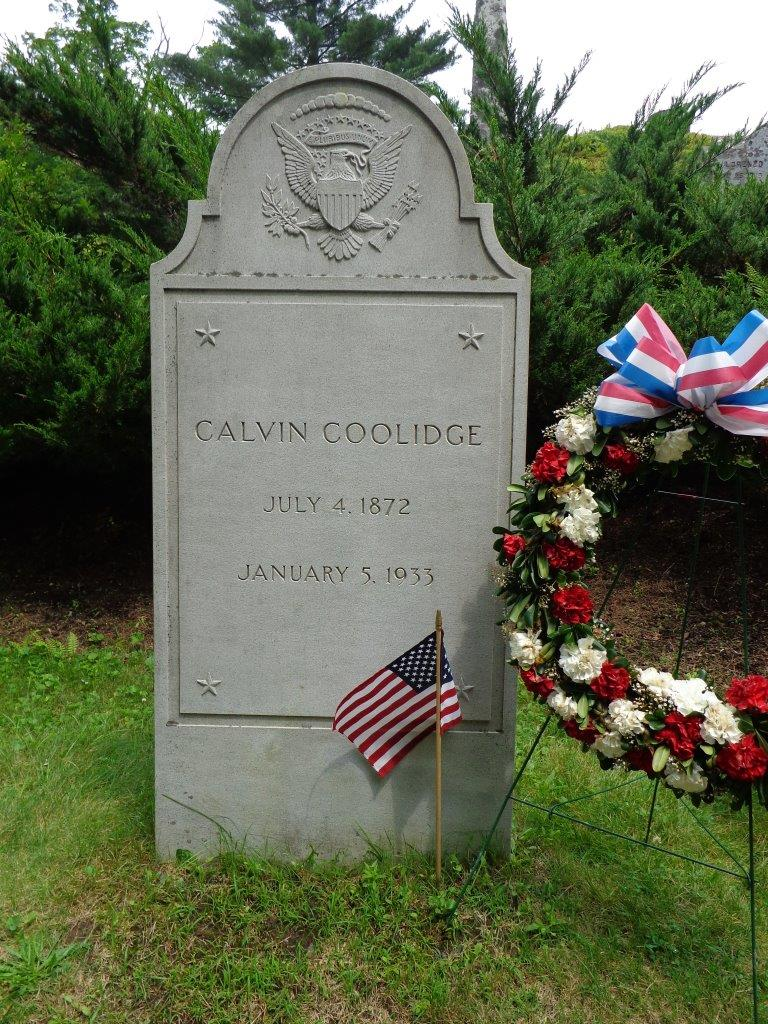 Calvin Coolidge grave