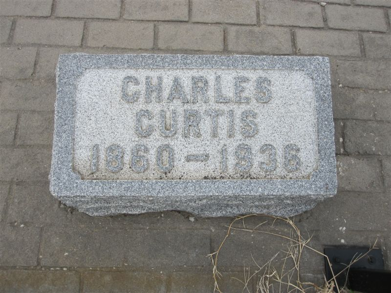 Vice President Charles Curtis gravesite