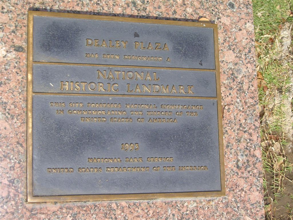 Dealey Plaza monument
