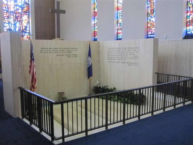 Dwight Eisenhower gravesite