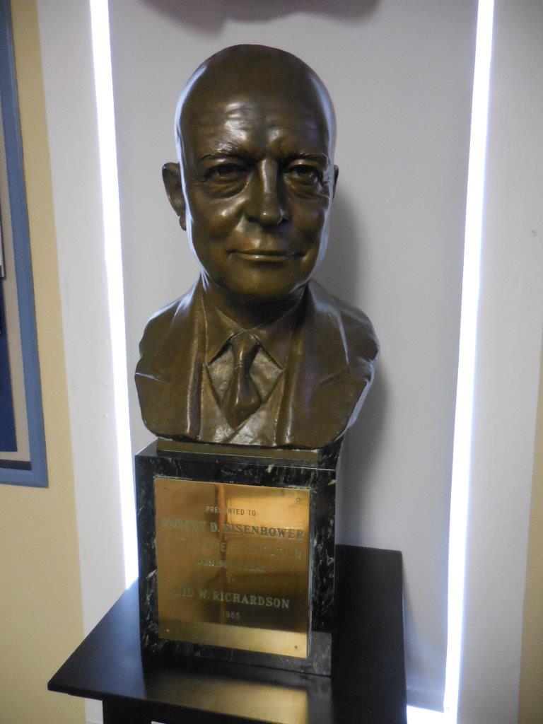 Dwight Eisenhower bust