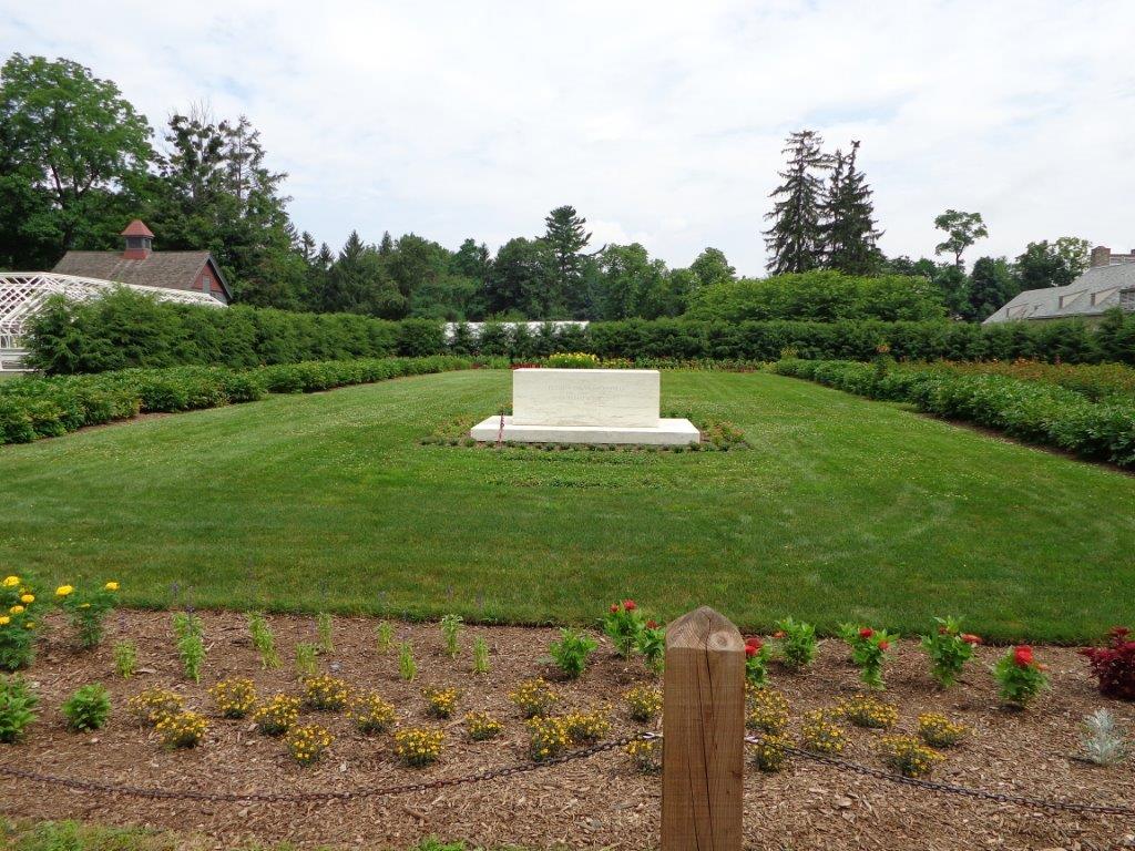 Franklin Roosevelt gravesite
