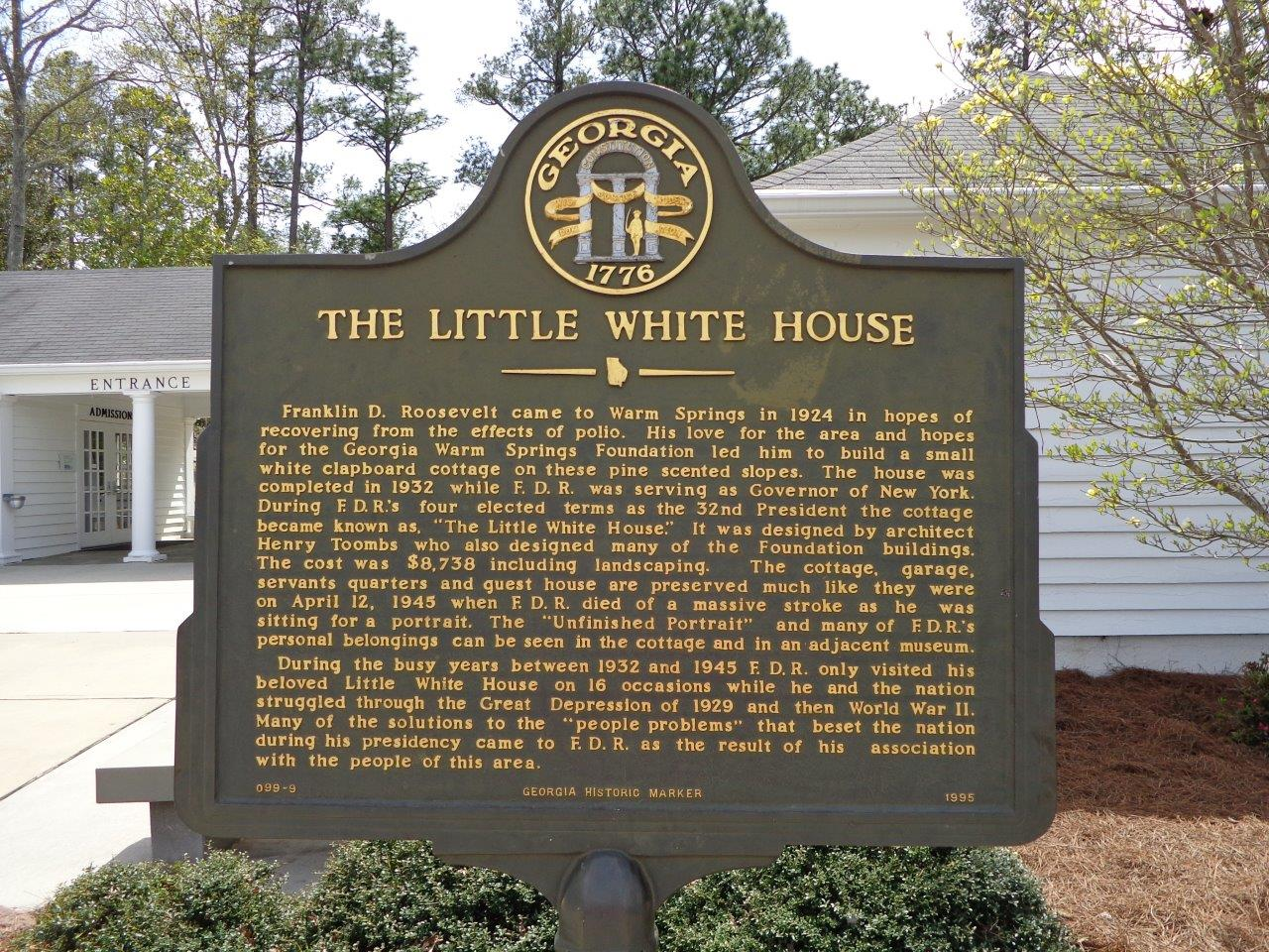 FDR Little White House Warm Springs, Georgia