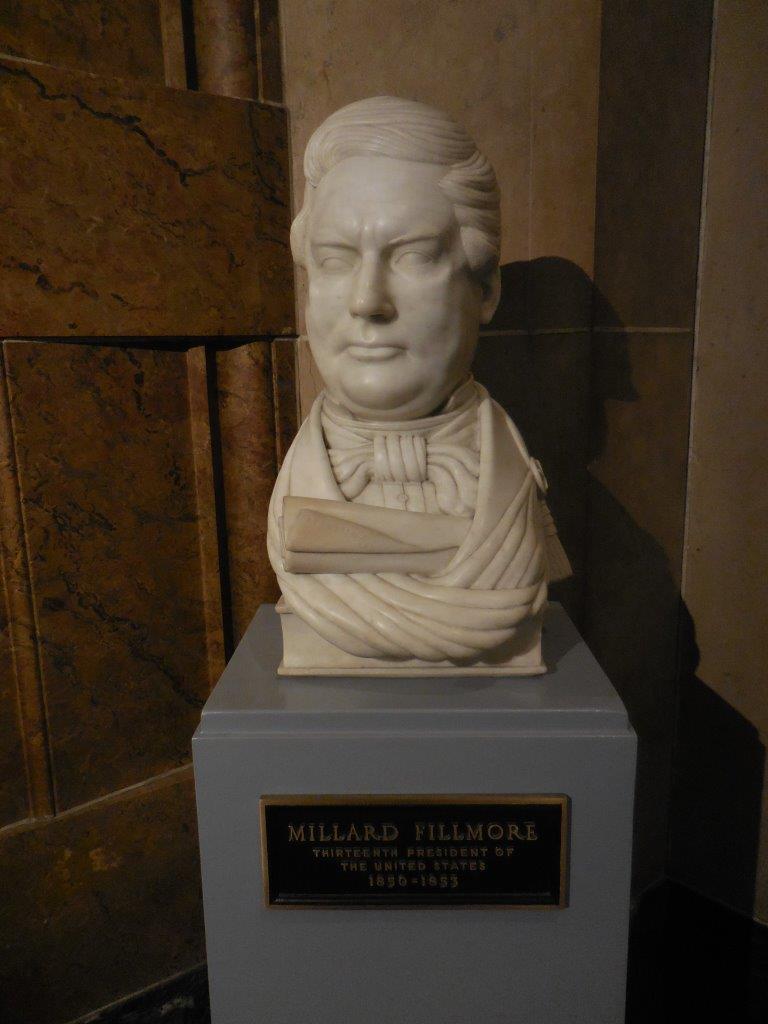 Millard Fillmore bust