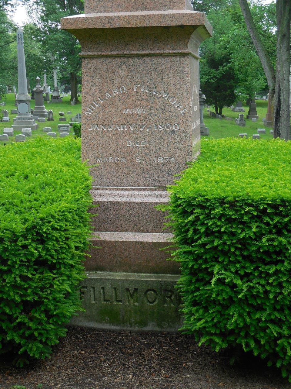 Millard Fillmore gravesite