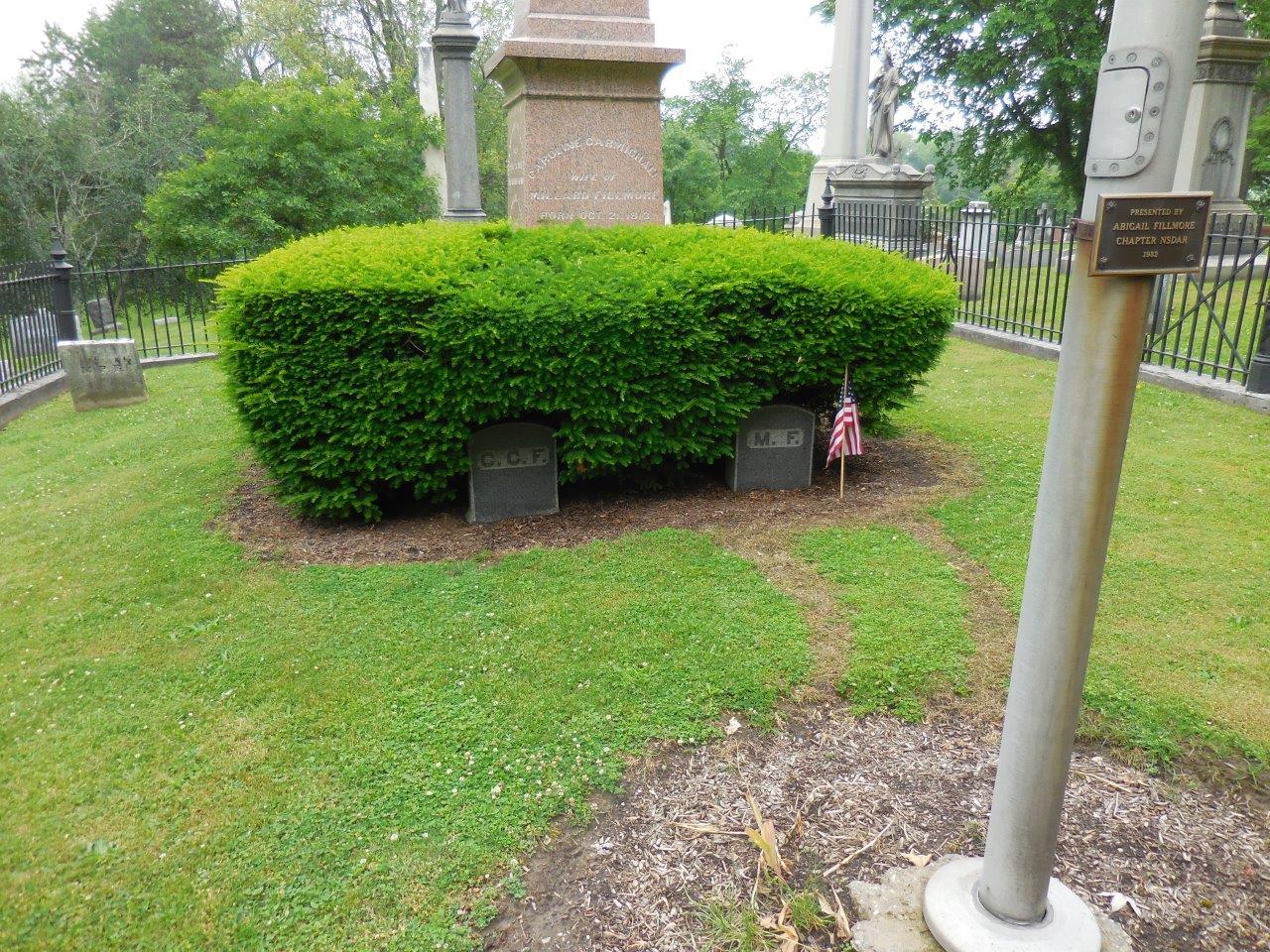 Millard Fillmore headstone
