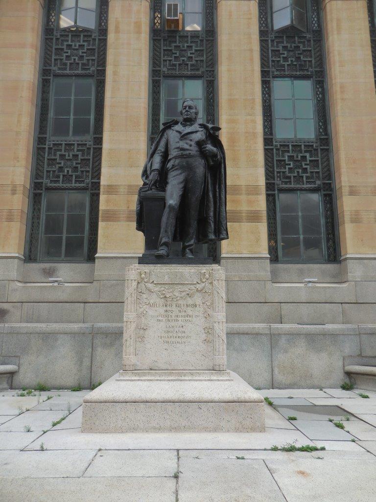 Millard Fillmore statue