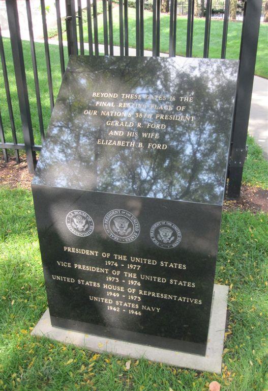 Gerald Ford Gravesite Grand Rapids Michigan