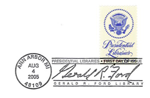 Ford Library Stamp
