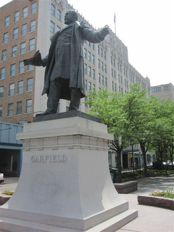 James Garfield statue in Cincinnati