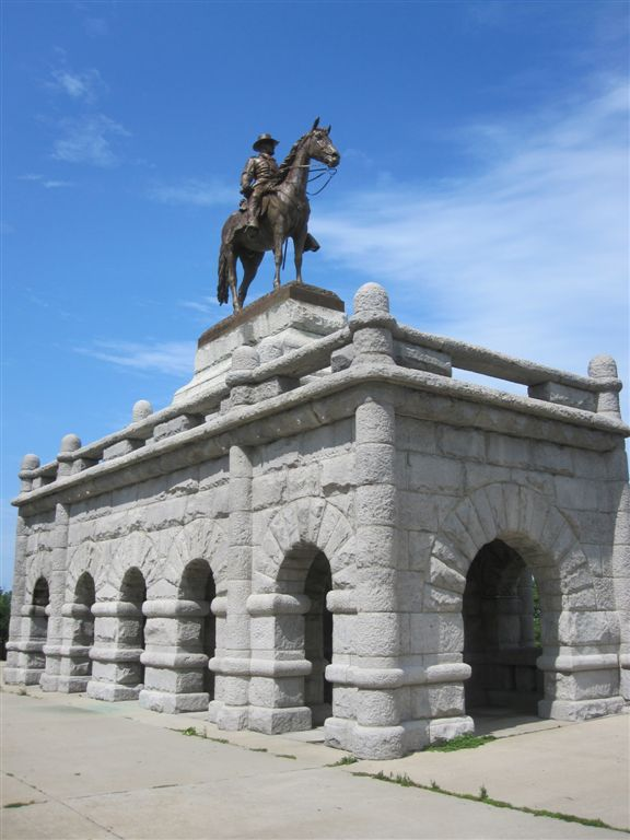 Ulysses Grant memorial in Chicago