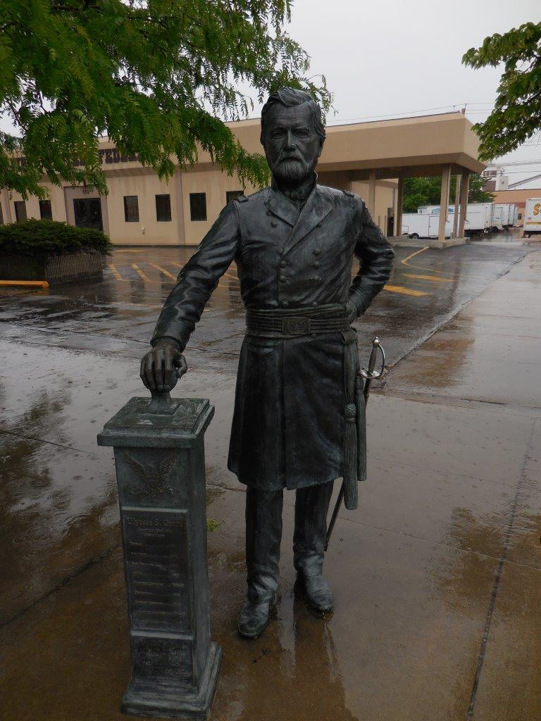 Ulysses S. Grant statue in Rapid City, South Dakota
