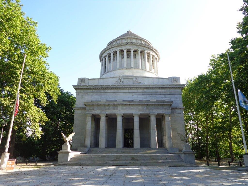 Ulysses S. Grant gravesite and tomb