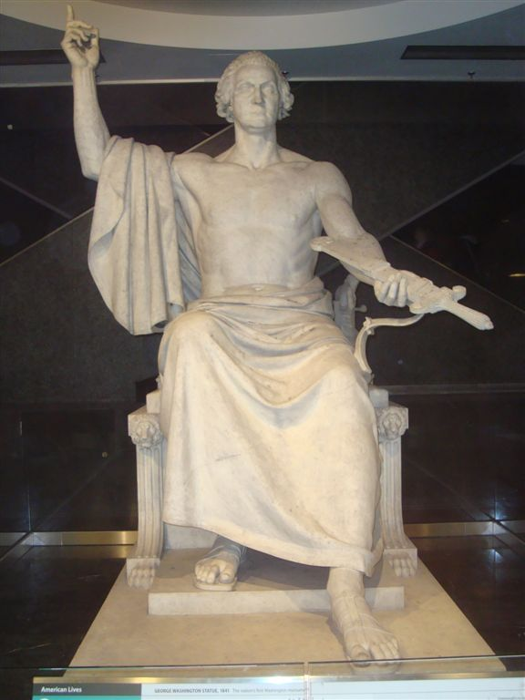 George Washington statue at National Museum of American History