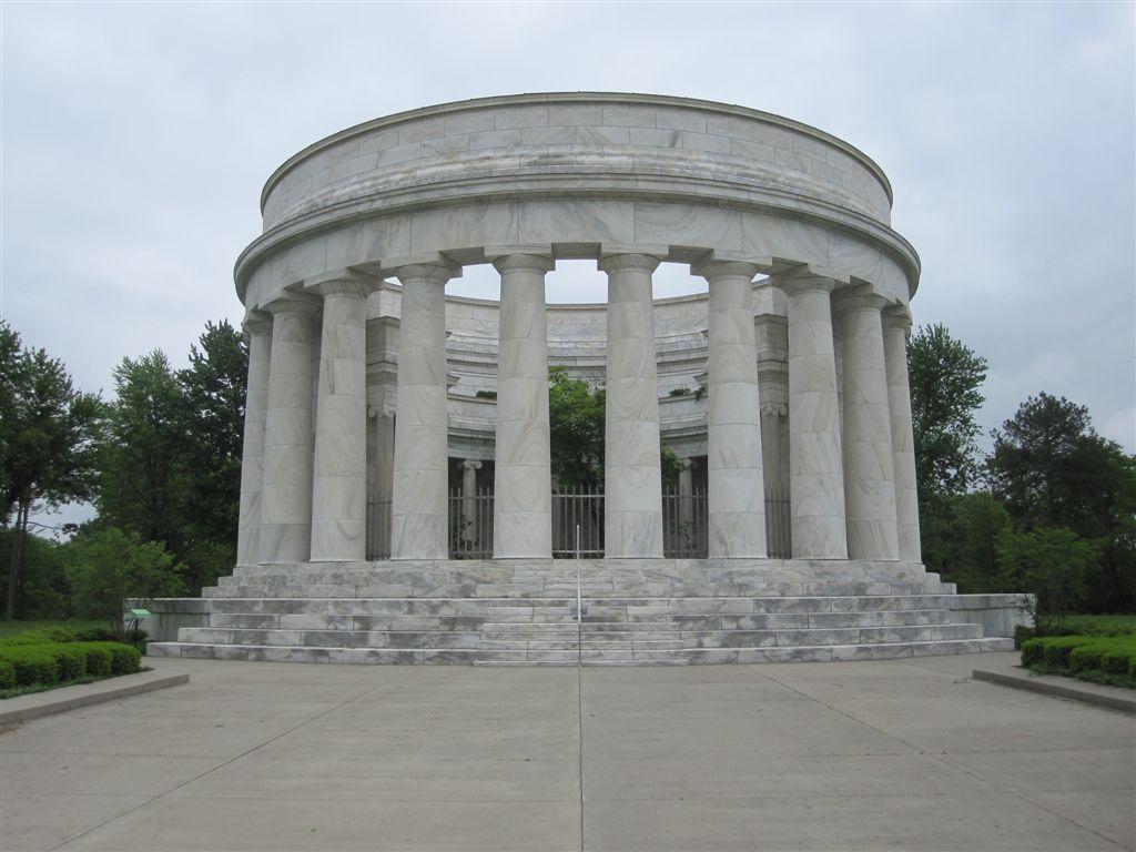 Warren Harding gravesite