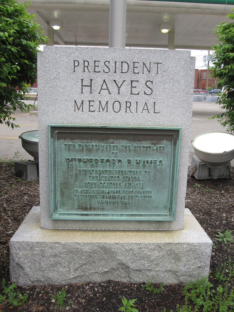 photo of Rutherford B. Hayes birthplace