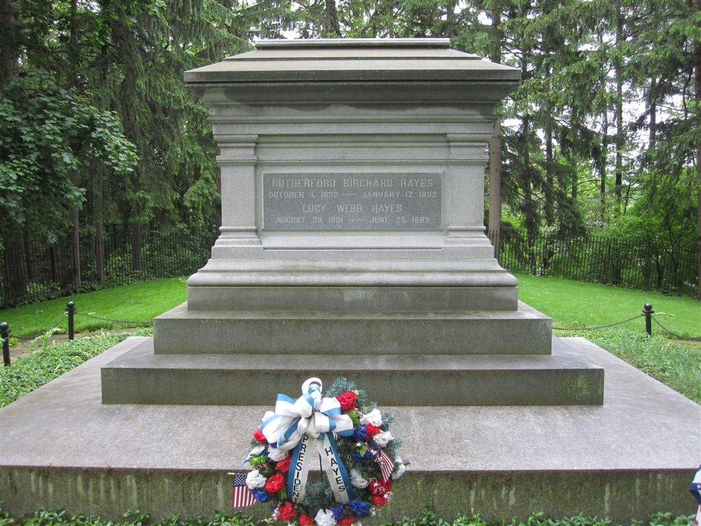 Rutherford B. Hayes gravesite