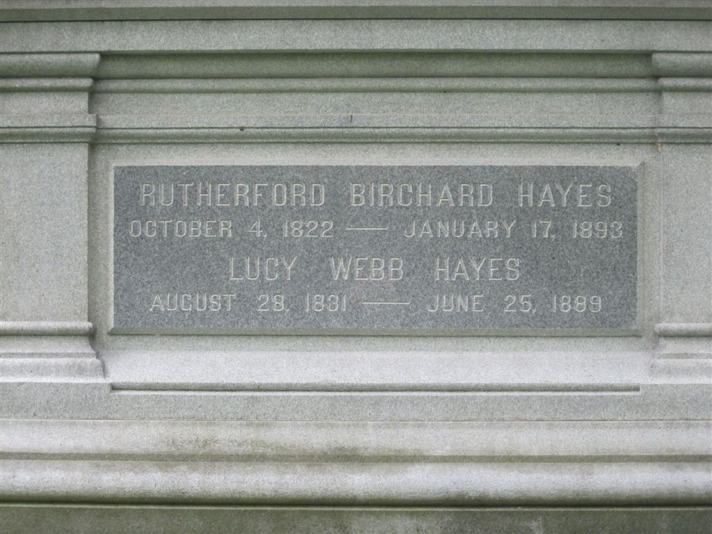 Rutherford Hayes grave