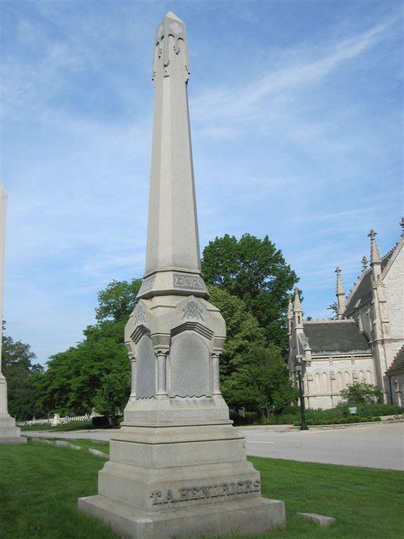 Vice President Thomas Hendricks grave
