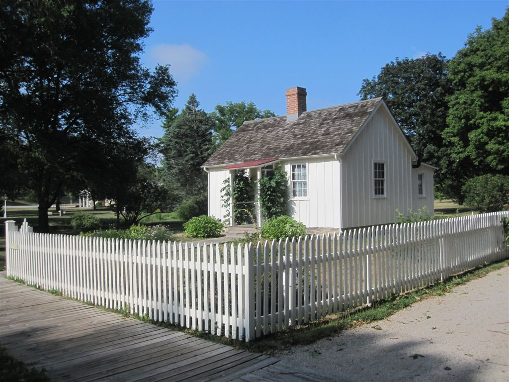 photo of Herbert Hoover's birthplace