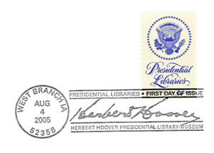 Hoover Library Stamp