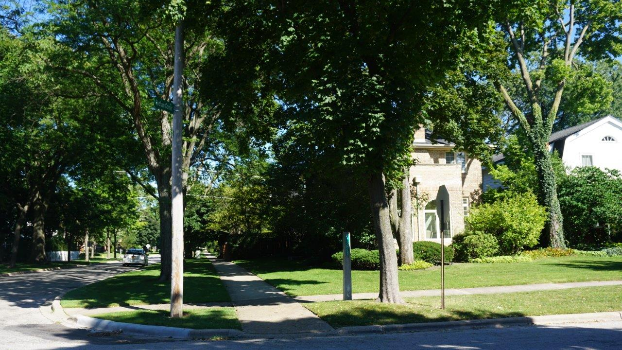 Hillary Rodham Clinton home in Park Ridge, Illinois