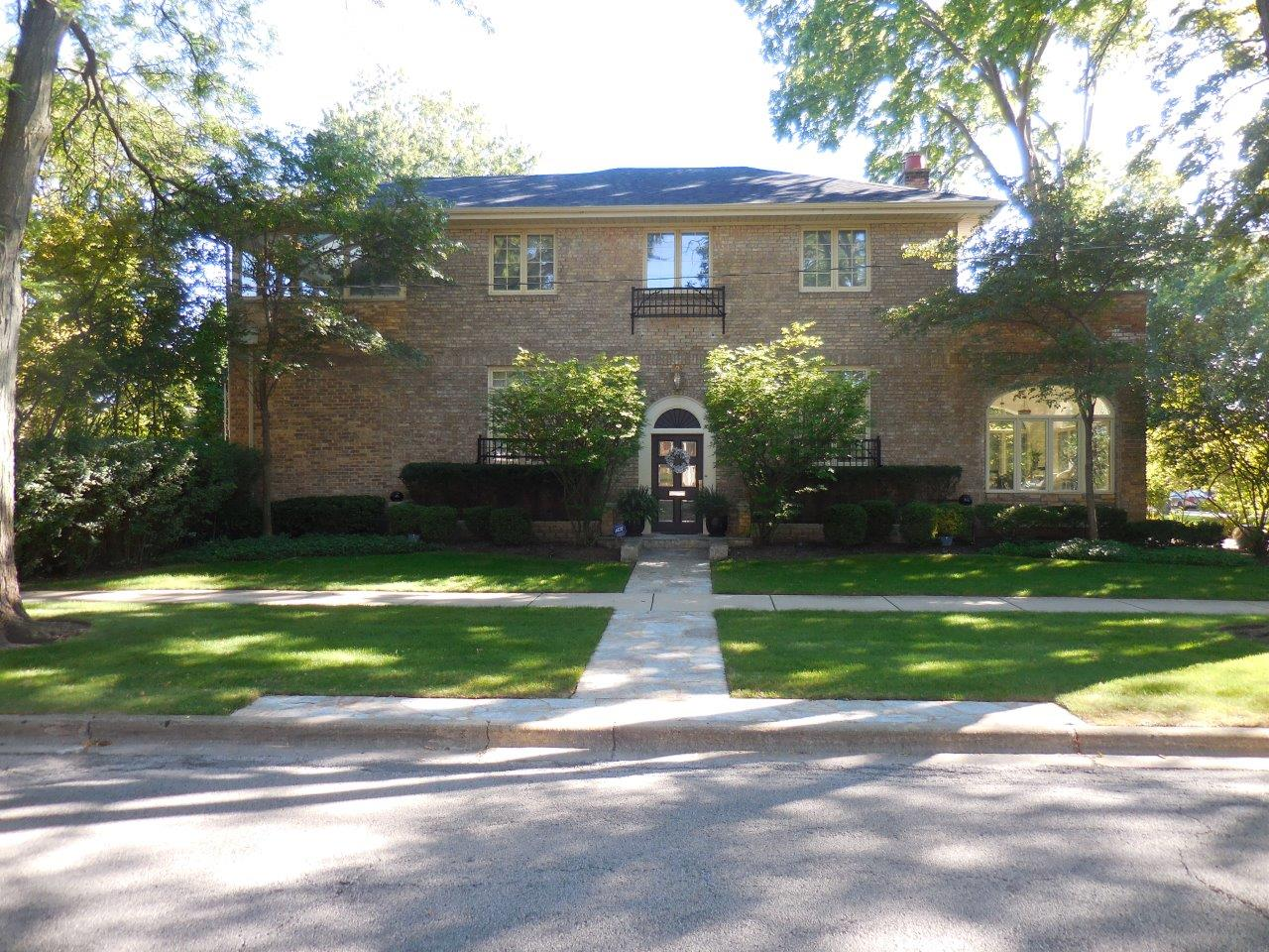 Hillary Rodham Clinton Childhood House In Park Ridge Illinois