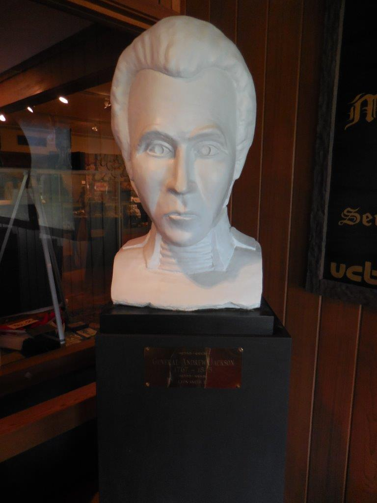 Andrew Jackson Bust in Waxhaw, North Carolina