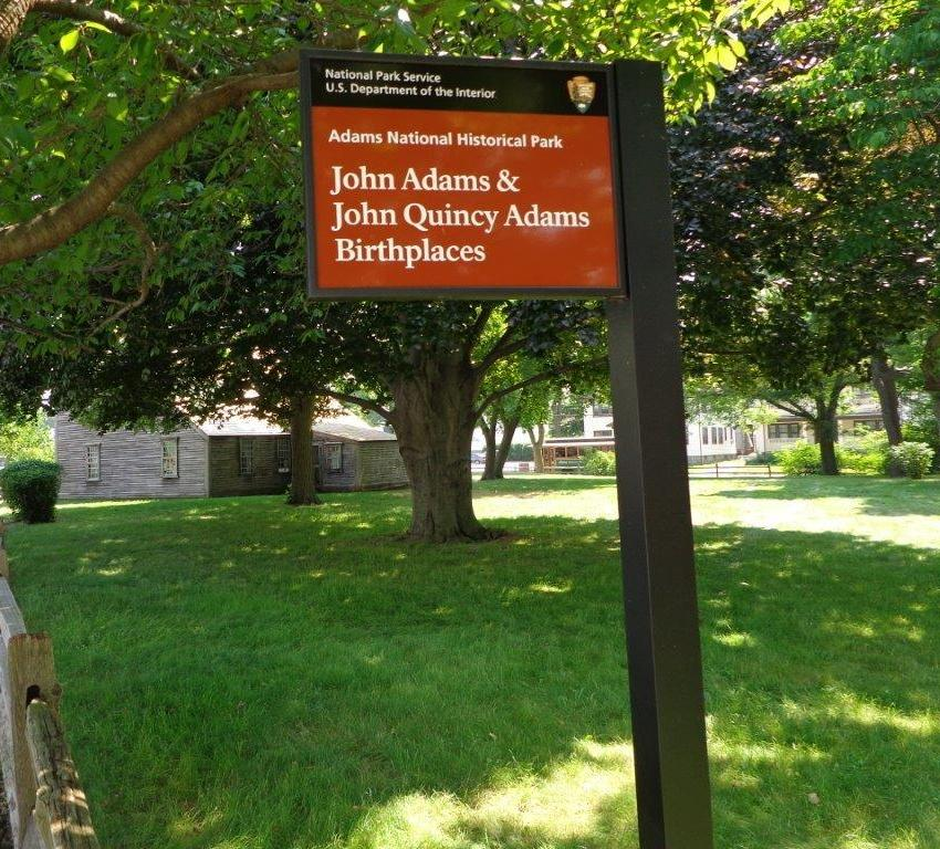 photo of John Adams birthplace