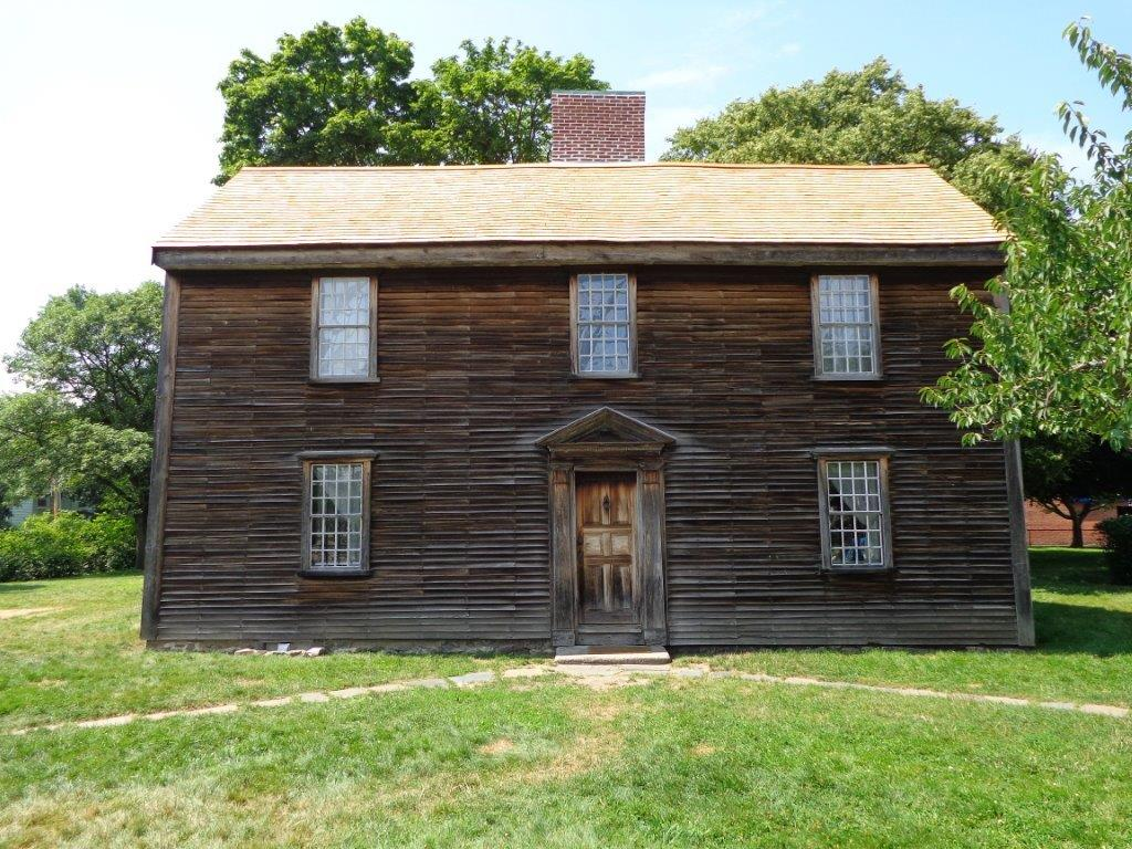 house in whcih John Adams was born