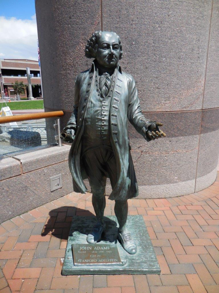 John Adams statue in Rapid City, South Dakota